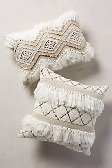 morrocan wedding pillow | anthropologie