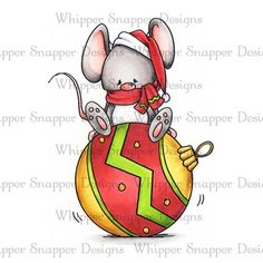 Whipper Snapper Designs is an expansive online store selling a large variety of unique rubber stamp designs. Christmas Rock, Christmas Colors, Christmas Crafts, Christmas Decorations, Christmas Ornaments, Watercolor Christmas Cards, Christmas Drawing, Christmas Paintings, Christmas Animals