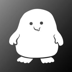 Hey, I found this really awesome Etsy listing at https://www.etsy.com/listing/119362410/adipose-sticker-doctor-who-vinyl-decal