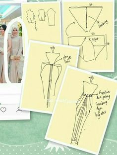 Glorious All Time Favorite Sewing Projects Ideas. All Time Favorite Top Sewing Projects Ideas. Long Dress Patterns, Dress Sewing Patterns, Blouse Patterns, Clothing Patterns, Kaftan Pattern, Kebaya Dress, Diy Sewing Projects, Pattern Cutting, Pattern Drafting