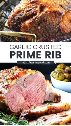Rib Recipes, Roast Recipes, Entree Recipes, Dinner Recipes, Recipies, Rib Roast Recipe, Prime Rib Recipe, Holiday Recipes, Family Recipes