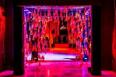 Diesel's inaugural Canada edition of its Red Room Party took over the space at 330 Bay Street in Toronto April 12. The entrance to the venue featured a hanging art installation created with condoms, which served as an Insta-worthy photo op.