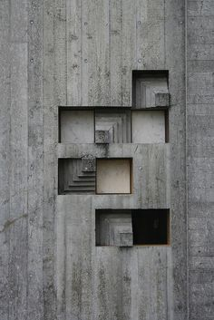 Concrete details at Brion Vega Cemetery, Carlo Scarpa Architecture Antique, Art Et Architecture, Concrete Architecture, Contemporary Architecture, Tropical Architecture, Pavilion Architecture, Classical Architecture, Sustainable Architecture, Carlo Scarpa