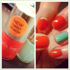 #Sephora #Nailspotting #nailsinc