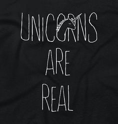 Unicorn-Are-Real-Women-Shirts-Funny-Picture-Shirt-Cute-Cool-Junior-V-Neck-Tee