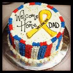 welcome home cake birthday party ideas pinterest cake cake