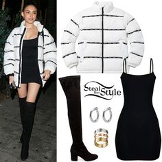 Madison Beer Clothes & Outfits | Steal Her Style Celebrity Outfits, Celebrity Style, Star Fashion, Girl Fashion, Braided Hairstyles For School, Estilo Madison Beer, Madison Beer Outfits, Ariana Grande Photoshoot, Girl Outfits