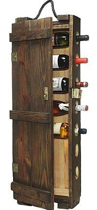 Ammo Box - don't need another wine rack, but I think I just found my new bunkhouse bathroom cabinet.