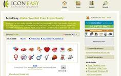 Icon Easy, un directorio con más de 15000 iconos de gran calidad