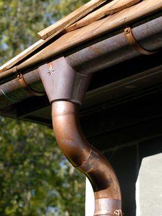Copper Gutters zinc gutters