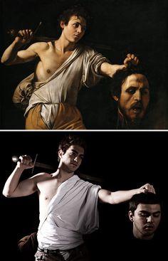Caravaggio, Davide con la testa di Golia, 1606