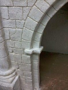 portal artesanal rodrigo garcia istillarty Portal, Wargaming Terrain, Tudor House, Model Building, Fish Tank, Design Model, Scale Models, Statue, Vespa