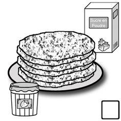Recettes en autonomie : galette des rois, pâte à crèpe pour la Chandeleur - Les coccinelles GS CP CE1 CLIS Crepes, Mardi Gras, Nutrition, Plates, Tableware, Desserts, Flip Books, Montessori, Education