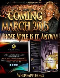 Whose Apple is it, Anyway! Coming March 2015