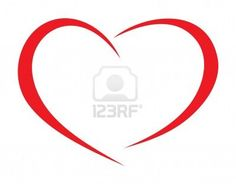 Red heart  18661743