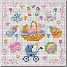 Thrilling Designing Your Own Cross Stitch Embroidery Patterns Ideas. Exhilarating Designing Your Own Cross Stitch Embroidery Patterns Ideas. Free Cross Stitch Charts, Baby Cross Stitch Patterns, Cross Stitch For Kids, Cross Stitch Baby, Cross Stitch Designs, Baby Embroidery, Cross Stitch Embroidery, Embroidery Patterns, Cross Stitch Tutorial