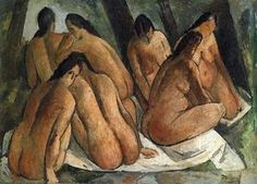 baigneurs - (André Derain)