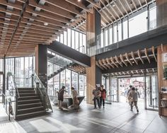 Kengo Kuma & Associates, Rasmus Hjortshøj · Asakusa Culture and Tourism Center