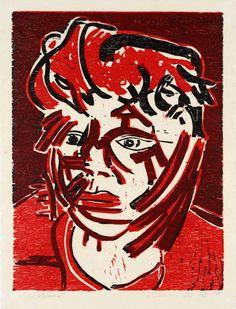 Head. 1988. By Tony Bevan.