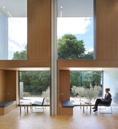 Image 13 of 23 from gallery of Sainsbury Laboratory / Stanton Williams. Photograph by Hufton+Crow