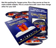 Want to learn how to sell more resell videos and products, get this product in a box worth thousand of dollars. tons of video showing you how. How much money have you LOST in the past few months alone from purchasing products with resell rights but not setting them up and selling them? Get this business in a box to find out how you can turn all of those products into loads of profits! http://keoyl.com/g0WBeR