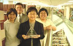 HKBU Library Wins Award Librarians, Awards