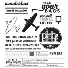 Image of Wanderlust Digital Files