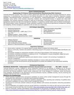 Technical Recruiter Resume Sample Will Give Ideas And Provide As References  Your Own Resume. There Are So Many Kinds Inside The Web Of Resume Sample For