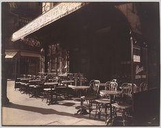 Café, Avenue de la Grande-Armée, 1924–25 Eugène Atget (French, 1857–1927) Silver print from glass negative