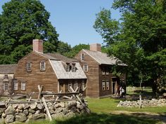 """See how Americans lived during the outbreak of the American Revolution by visiting Hartwell Tavern, a restored 18th- century home and tavern located on """"Battle Road"""" in Minute Man National Historical Park."""