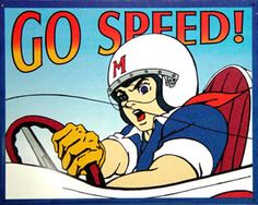 """History of Speed Racer: """"Go Speed Go""""  http://www.retroplanet.com/blog/retro-archives/character-of-the-week/speed-racer-go-speed-go/"""