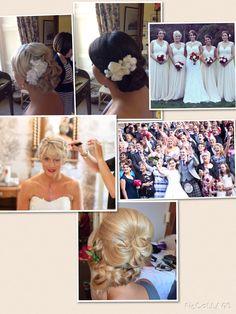 Wedding hair by Karin SL hairdressing