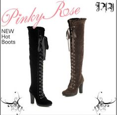 Fashion Design Women's Heeled High Boots on BuyTrends.com, only price $26.00