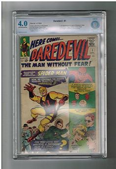DAREDEVIL (v1) #1 CBCS Grade 4.0 Fantastic Silver Age (1964) find from Marvel! @ niftywarehouse.com #NiftyWarehouse #Spiderman #Marvel #ComicBooks #TheAvengers #Avengers #Comics
