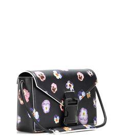 Christopher Kane - Printed leather crossbody bag | mytheresa.com