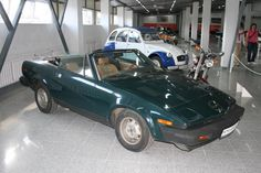 #triumph #tr7 in a museum in #vyborg #russia #Выборг #Россия