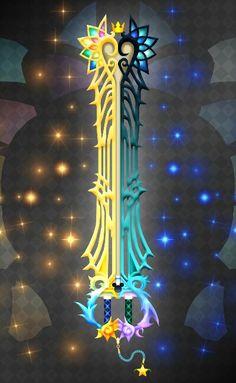 Ultima Keyblade... ish so pwetty @Michelle Flynn Flynn Flynn V