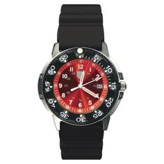 Dive Watch, Red Face (41200 Series)