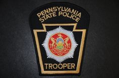 Pennsylvania State Police Patch (Current Issue) - States Display