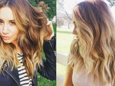 This new tutorial will give you chic wavy hair like Lauren Conrad and Ashley Tisdale