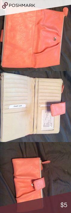 Peach wallet Peach wallet non Bags Wallets