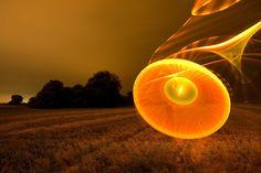 Light Painting Artist JanLeonardo, Biography and Interview Light Painting Photography, Light Installation, Light Orange, Dark Backgrounds, Beautiful Lights, Light Art, Artist Painting, Overlays, Cool Photos