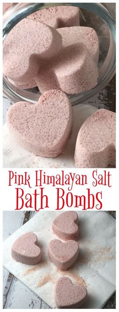 Pink Himalayan Salt is a wonderful source of nutrients - combine with a few other ingredients to make these easy bath bombs! Pink Himalayan Salt is a wonderful source of nutrients - combine with a few other ingredients to make these easy bath bombs! Diy Spa, Himalayan Salt Bath, Bath Boms, Diy Masque, Homemade Bath Bombs, Diy Bath Bombs, Making Bath Bombs, Homemade Bubbles, Shower Bombs