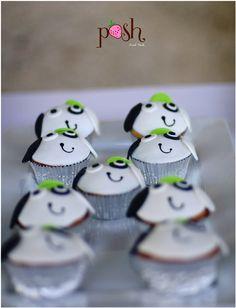 Doki Face Cupcakes