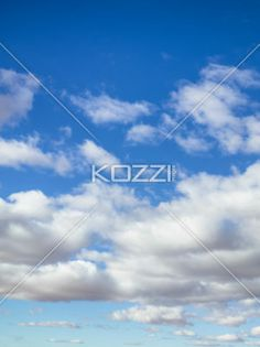 blue sky with grey clouds - Image of blue sky with grey clouds