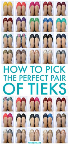 Thinking about getting Tieks ballet flats? I've got tips to help you pick the perfect pair, plus tons of photos and side by side comparisons!