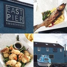Our #lunch stop today did not disappoint marvellous #smoked #seabass & #prawns thank you for recommendation Karen @welcometofife #fife #scotbloggers #ukfoodblogger #foodblogger #lovefifefood #instafood