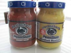 Herlocher's Salsa and Dipping Mustard - All proceeds benefit the #PSU Chapter Scholarship Fund. RSVP for Nittany Networking Night NOW to be able to bid!