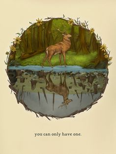 You Can Only Have One by Jessica Roux, via Behance