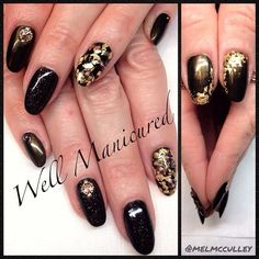 #wellmanicured #nails #gelish COLORS: Welcome to the Masquerade